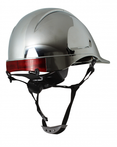 Barbiquejo 4 puntas con mentonera para casco MTA ABS